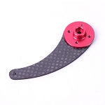 Carbon Fiber Single Servo Horn