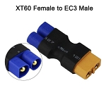 No Wire - EC3 Female to XT60 Plug Male Connector / Adapter