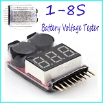 2in1 1-8s Lipo Battery Voltage Tester