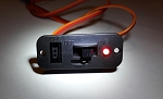 Rcexl RC Heavy Duty Power Switch with Red LED Indicator