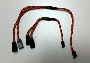 22AWG Servo Twisted Wire Y Cable